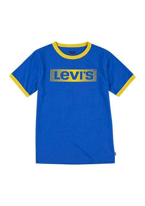 Levi's® Boys 4-7 Logo Ringer T-Shirt