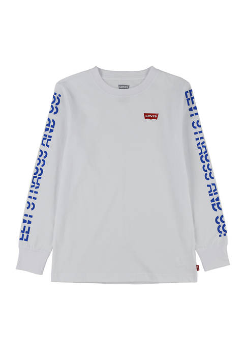 Levi's® Boys 4-7 Graphic Long Sleeve T-Shirt