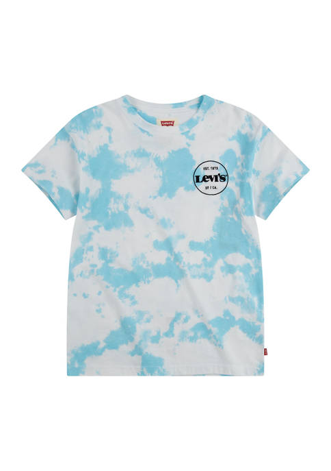 Levi's® Boys 4-7 Short Sleeve Tie Dye Logo