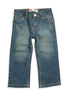 514 Straight Denim Blue Jeans Boys 4-7