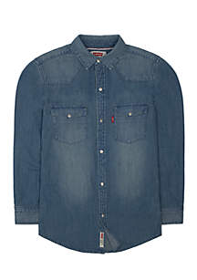 Levi's® Barstow Western Denim Shirt Boys 8-20