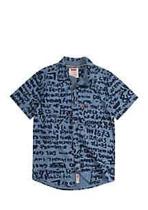 Short Sleeve Smith Woven Shirt Boys 8-20