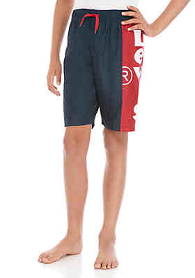 adefd5ab94 Levi's® Boys 8-20 U09 Dress Blues Volley Swim Trunks ...