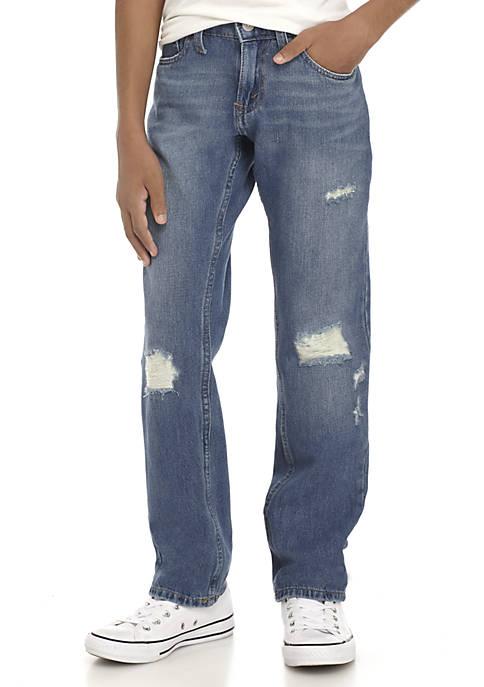 Boys 8-20 Destructed Denim Pants