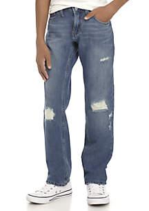 Levi's® Boys 8-20 Destructed Denim Pants