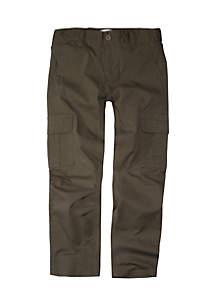 Boys 8-20 Regular Taper Fit Stretch Cargo Pants