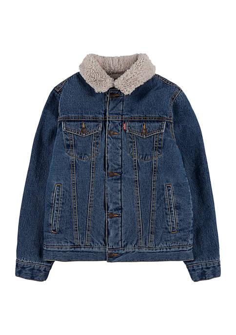 Levi's® Boys 8-20 Sherpa Lined Trucker Jacket