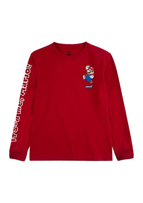 Levi's® Boys 8-20 Its-A Me, Mario Graphic T-Shirt