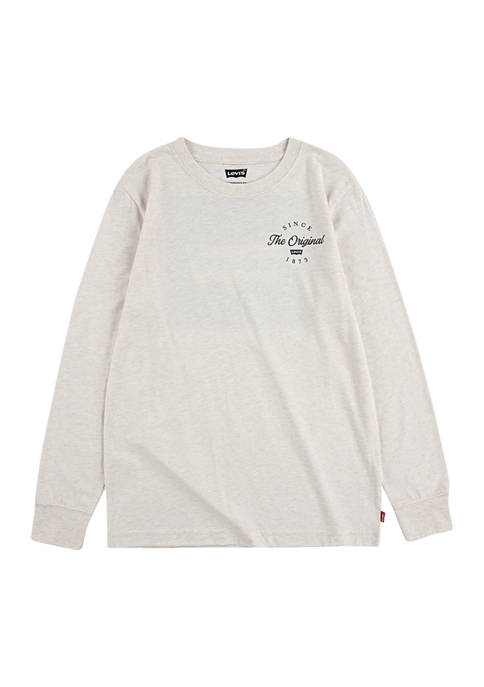 Levi's® Boys 8-20 Graphic Long Sleeve T-Shirt