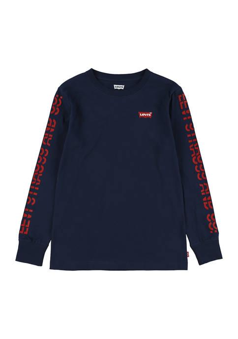 Levi's® Boys 8-20 Graphic Long Sleeve T-Shirt