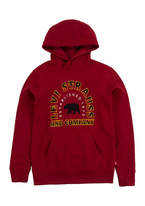 Levi's® Boys 8-20 Fleece Logo Graphic Pullover Hoodie