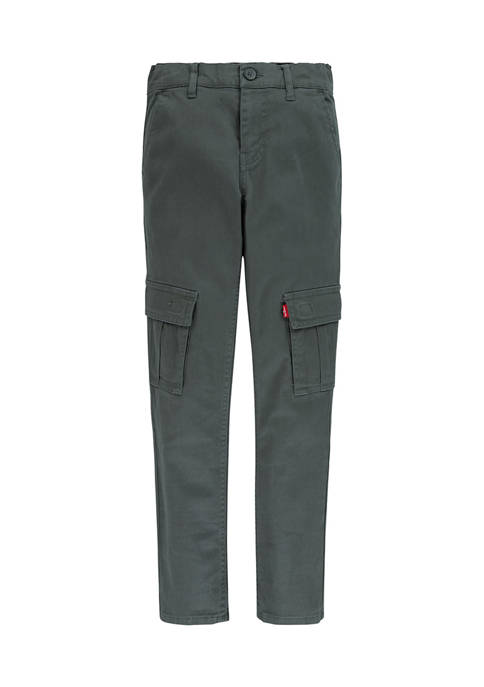 Boys 8-20 Tapered Cargo Chino Pants