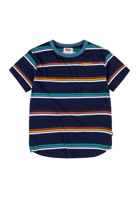 Boys 8-20 Short Sleeve Striped T-Shirt