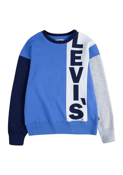 Levi's® Boys 8-20 Colorblock Logo Graphic Sweater