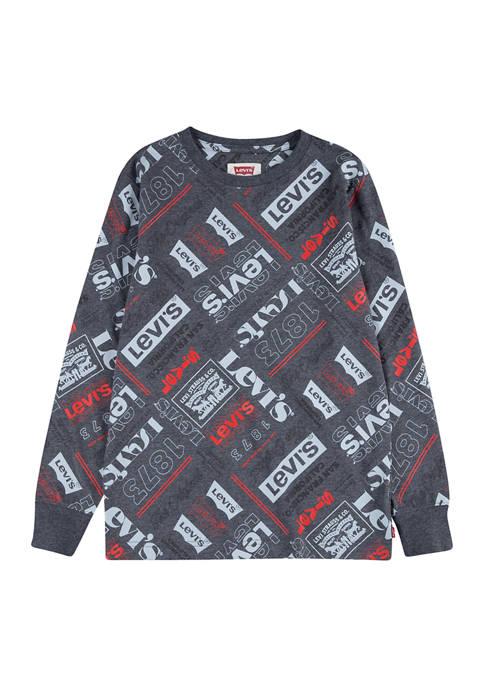 Boys 8-20 Long Sleeve Graphic T-Shirt