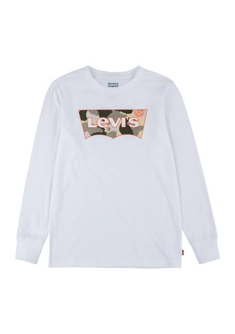 Boys 8-20 Long Sleeve Logo Graphic T-Shirt