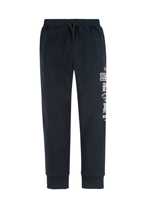 Boys 8-20 Knit Pull On Joggers