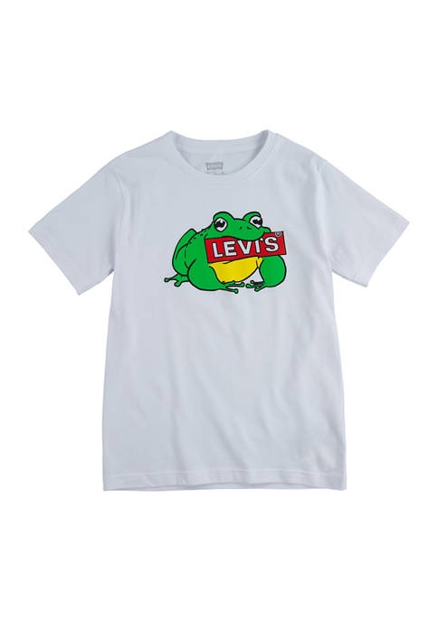 Boys 8-20 Short Sleeve Logo Frog Graphic T-Shirt