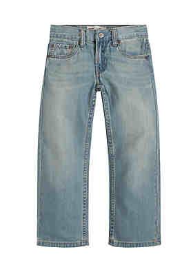 b895407ecfce28 Levi's® Boys 8-20 505 Husky Regular Blue Jeans ...