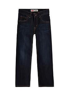 505 Regular Blue Jeans Husky Boys 8-20
