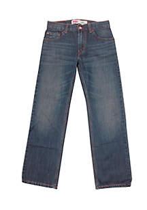 Levi's® Boys 8-20 505 Husky Regular Blue Jeans
