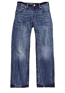 505 Regular Blue Jeans For Boys 8-20