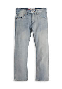 527 Boot Cut Denim Blue Jeans Boys 8-20