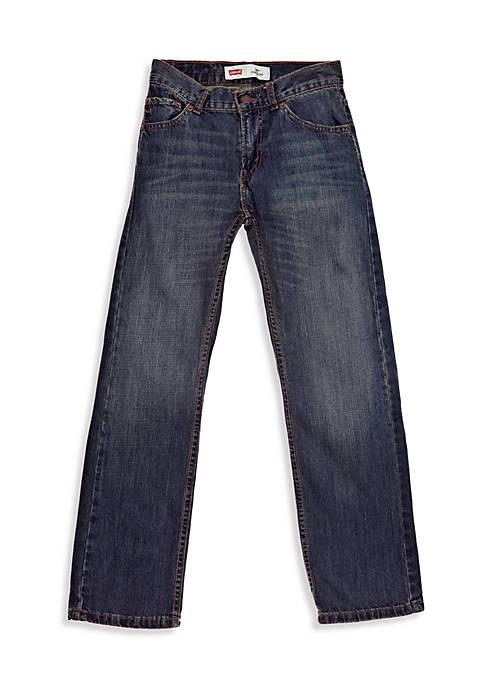 Levi's® Boys 8-20 505 Slim Regular Blue Jeans