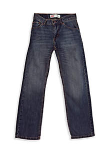 505 Regular Blue Jeans Slim Boys 8-20