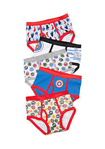 Marvel™ 5-Pack Avengers Characters Underwear Boys 4-7