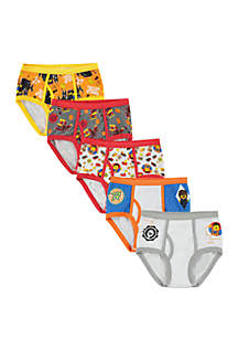 Lego® Boys 4-8 5 Pack Briefs Set