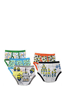 Boys 4-8 Despicable Me Underwear Set
