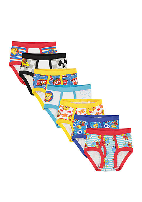 Daneil Tiger Toddler Boys 7 Pack Briefs Set