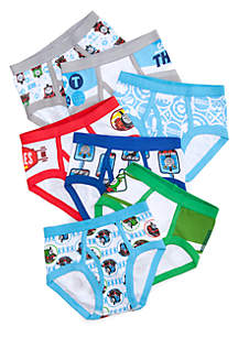 7-Pack Underwear Toddler Boys