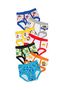 7-Pack Paw Patrol Underwear Toddler Boys