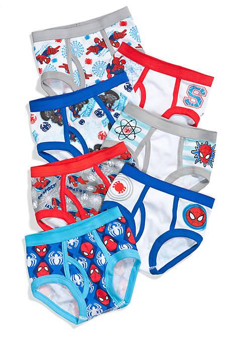 7-Pack Spider-Man Underwear Toddler Boys