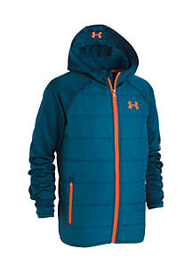 Under Armour® Boys 4-7 Day Trekker Hooded Hybrid Jacket