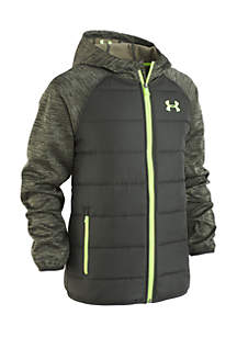 Boys 8-20 Trakker Hooded Hybrid Jacket