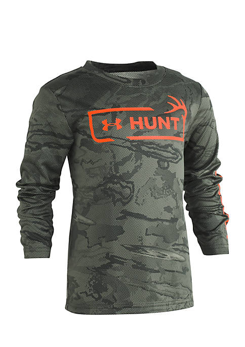 Under Armour® Boys 4-7 Reaper Hunt Logo Long