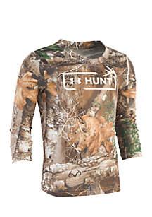 Boys 4-7 Real Tree Hunt Logo Long Sleeve Shirt