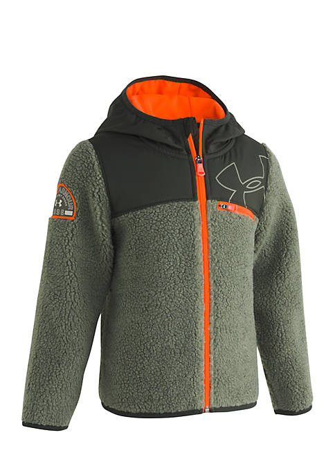 Under Armour® Boys 4-7 Hooded Sherpa Fleece Jacket