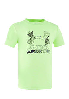 Under Armour® Hybrid Big Logo Tee Boys 4-7
