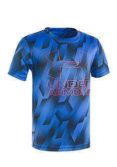 Under Armour® Sandstorm Big Logo Tee Boys 4-7