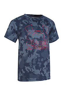 Utility Camo Big Logo Hybrid Top Toddler Boys