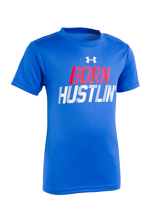 Under Armour® Boys 4-7 Born Hustlin Short Sleeve