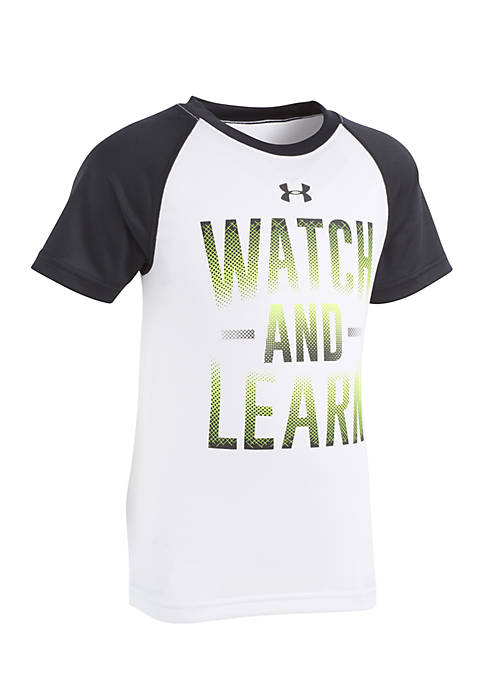 Under Armour® Boys 2-7 Watch and Learn Raglan
