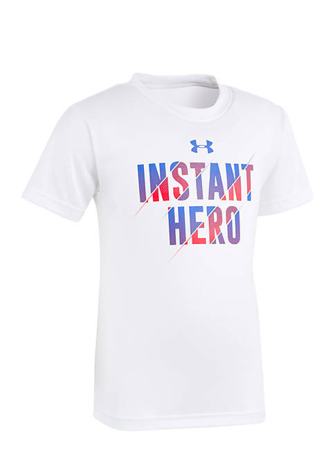 Under Armour® Boys 2-7 Instant Hero Short Sleeve