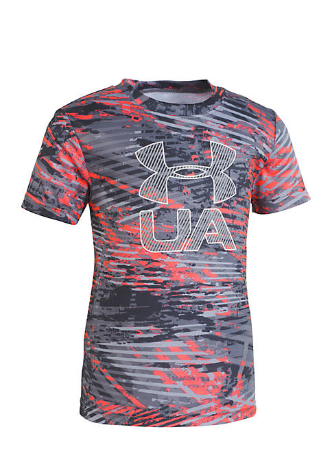 Under Armour® Boys 2-7 Vertigo Logo Short Sleeve