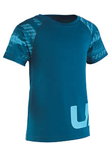 Under Armour® Boys 4-7 Logo Raglan T-Shirt