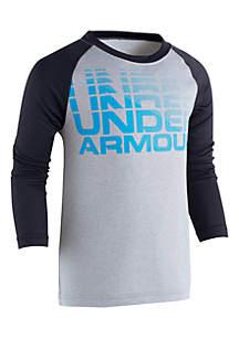 Boys 4-7 Wordmark Raglan T-Shirt